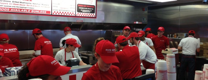 Five Guys is one of All Other Food 🍴🍟🍕🍔🍛.