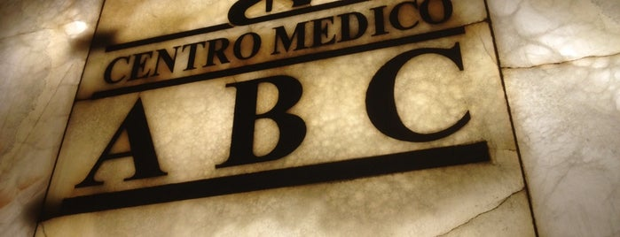 Centro Médico ABC is one of Sergio M. 🇲🇽🇧🇷🇱🇷さんのお気に入りスポット.