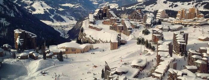 Avoriaz is one of Alpen-Tips.
