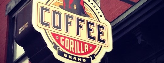 Gorilla Coffee is one of Brooklyn eats.