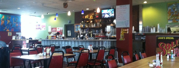 Louie's Grill Fusion Restaurant is one of Dinner Places.