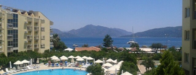 Caprice Beach Hotel Marmaris is one of TC Cazım : понравившиеся места.