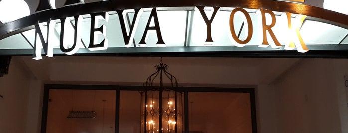 hotel nueva york is one of Lieux qui ont plu à Vanessa.