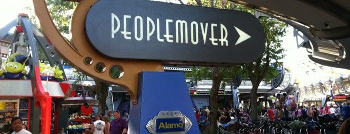 Tomorrowland Transit Authority PeopleMover is one of Walt Disney World.