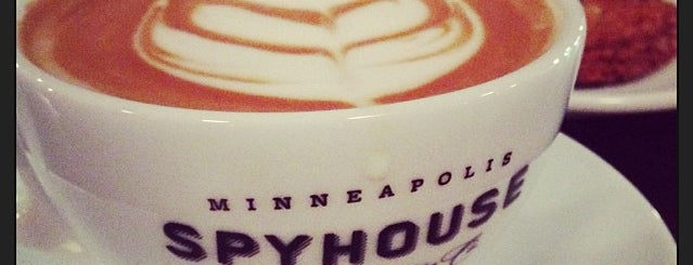 Spyhouse Coffee is one of minnie.
