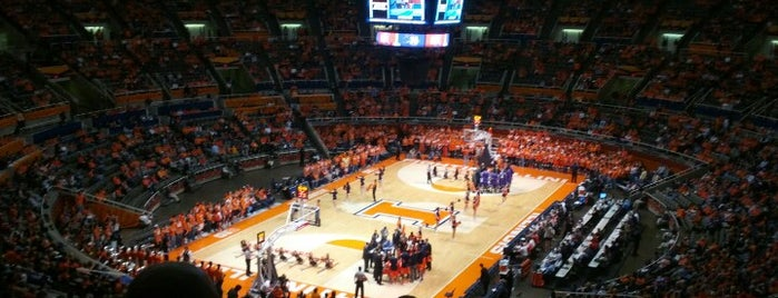 State Farm Center is one of Basketball Arenas.