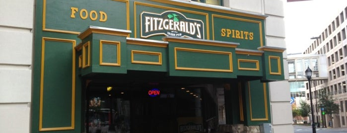 Fitzgerald's Irish Pub is one of Krystal 🎶さんの保存済みスポット.