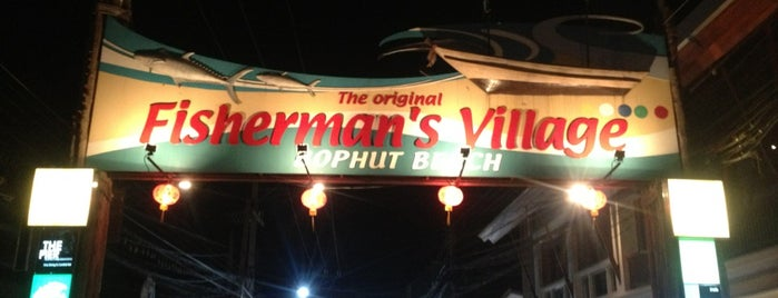 Fisherman's Village Walking Street is one of Ko Samui.