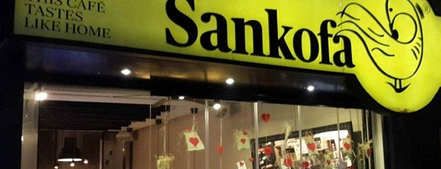 Sankofa is one of gidilecek.