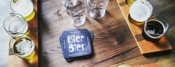 Bier-Bier is one of helsinki.
