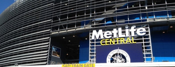 MetLife Stadium is one of Places to go when in New York.