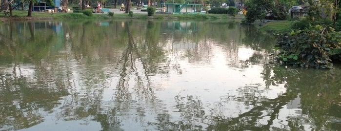 สวนพฤกษชาติคลองจั่น is one of สถานที่ที่ Julie ถูกใจ.