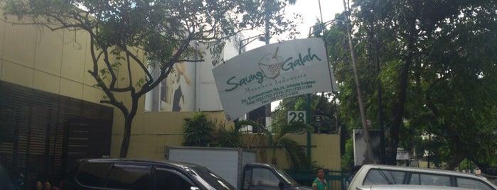Saung Galah is one of Restaurants In Jakarta.