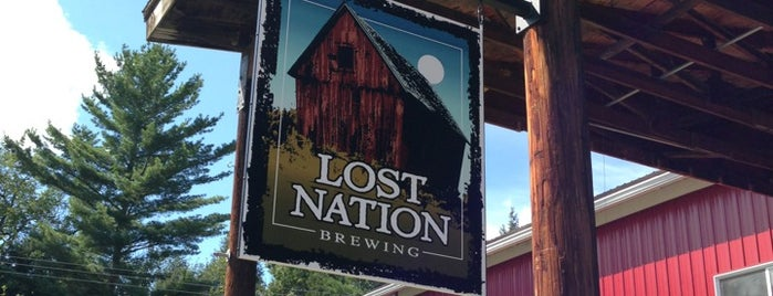 Lost Nation Brewing is one of Locais salvos de Matt.