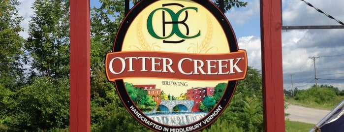 Otter Creek Brewery is one of New England To-Do's.