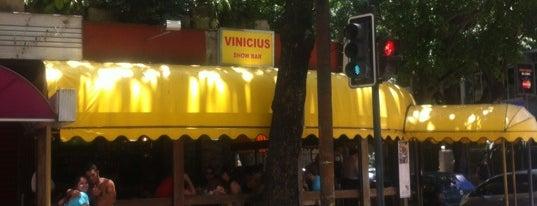 Vinícius Show Bar is one of Restaurantes Rio de Janeiro.