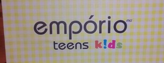Emporio Teens Kids is one of Tempat yang Disukai Bruno.