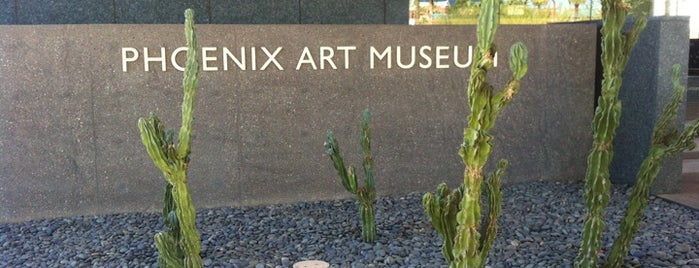 Phoenix Art Museum is one of Entertainment.