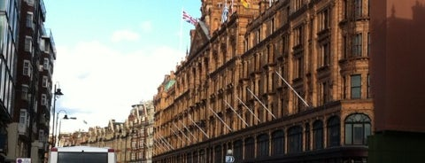 Harrods is one of London: To-Go.