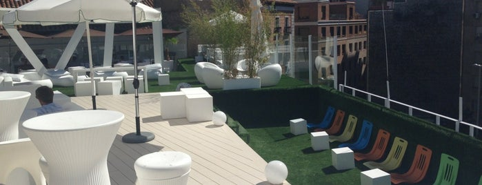 Terraza Gymage is one of Salir en Madrid.