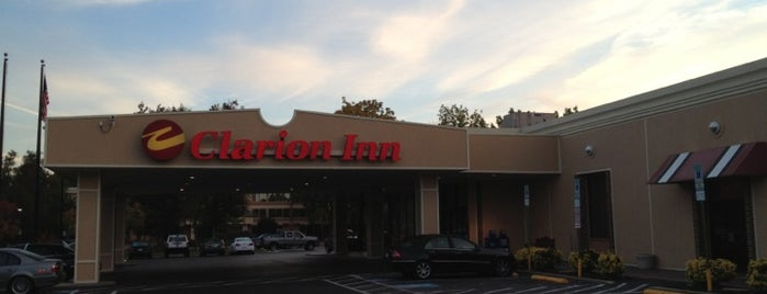 Clarion Inn is one of AT&T Wi-Fi Hot Spots - Hospitality Locations.
