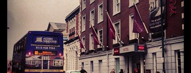 Mercure Nottingham City Centre Hotel is one of Nottingham.