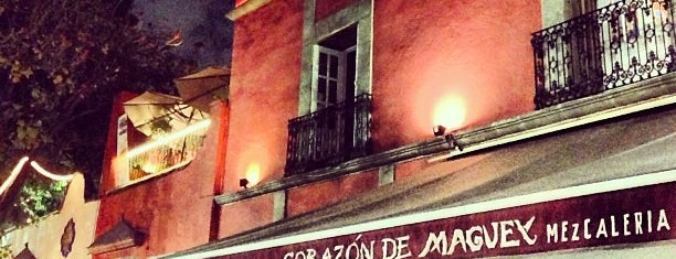 Corazón de Maguey is one of Last night.