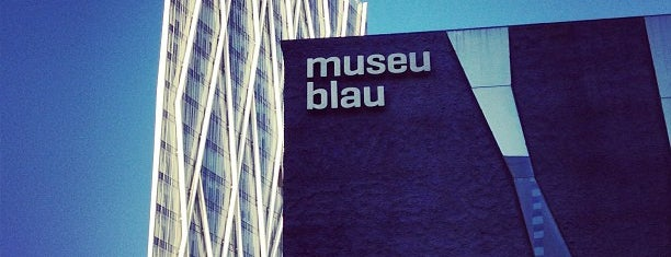 Museu Blau is one of Lieux qui ont plu à Marta.