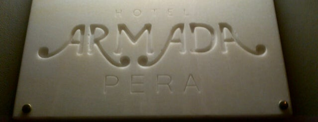 Armada Pera Hotel is one of Istanbul.
