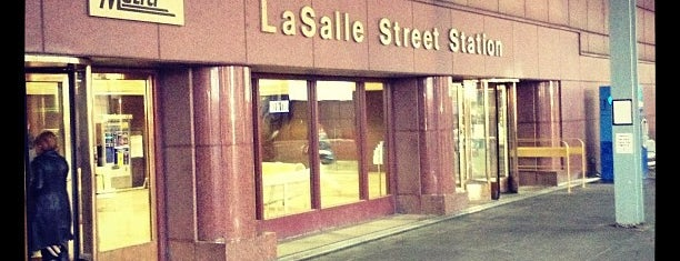Metra - LaSalle Street is one of Chicago.
