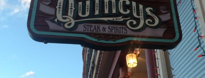 Quincy's Steak & Spirits is one of Colorado.