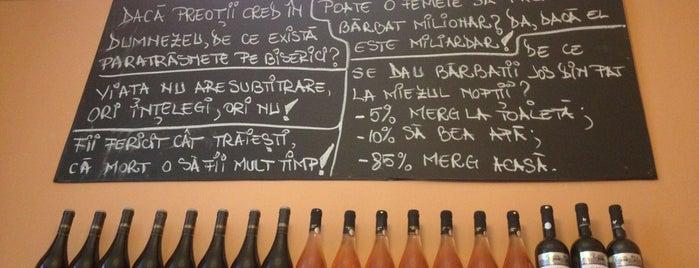 "Trattoria ""Pane e Vino"" is one of Bucharest."