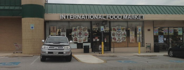 International Food Market is one of shopping.