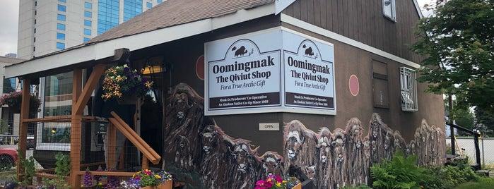 Oomingmak Muskox Producers Co-Operative is one of Alaska.