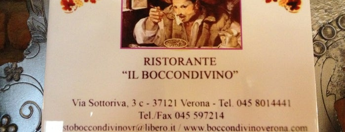Il Boccondivino is one of ** Eat & Drink in Verona **.