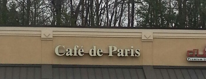 Cafe de Paris is one of ATL Lunch Spots.