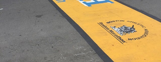Boston Marathon Finish Line is one of Places I've Been!.