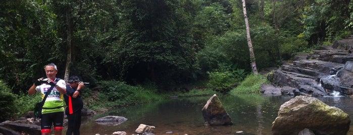 น้ำตกลานรัก is one of สระบุรี, นครนายก, ปราจีนบุรี, สระแก้ว.