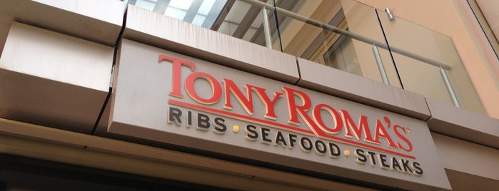 Tony Roma's Ribs, Seafood & Steaks is one of Dasha: сохраненные места.