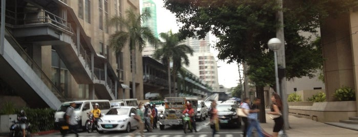 Amorsolo Street is one of Best places in Manila, Philippines.