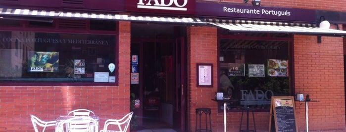 Fado is one of El Tenedor - Madrid.