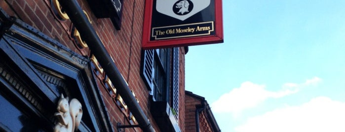 Old Moseley Arms is one of Orte, die Carl gefallen.