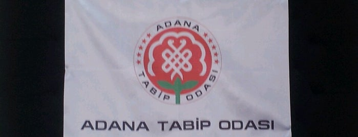 Adana Tabip Odasi is one of Top 10 favorites places in Adana.