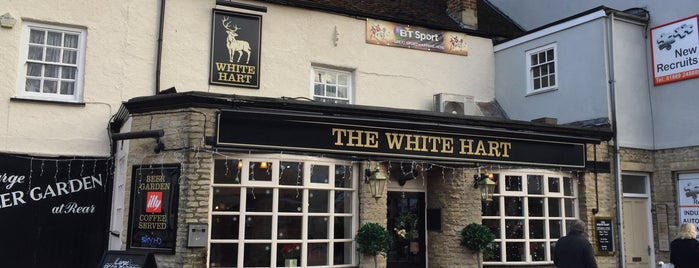 The White Hart is one of Lugares favoritos de Carl.
