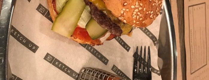 Ketch Up Burgers is one of สถานที่ที่ Anastasia ถูกใจ.