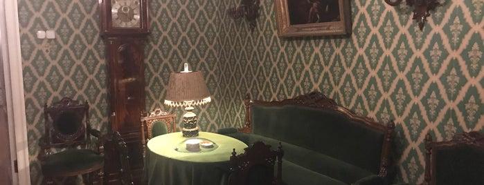 Dostoevsky Museum is one of Tempat yang Disukai Anastasia.