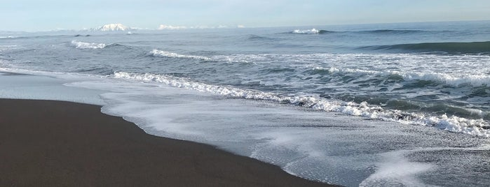Халактырский пляж is one of สถานที่ที่ Anastasia ถูกใจ.