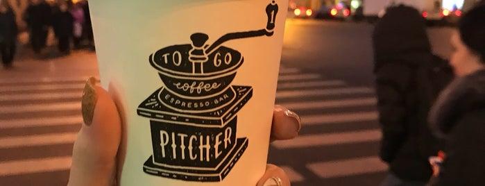 Pitcher is one of Posti che sono piaciuti a Anastasia.