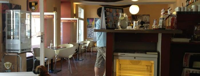 Café Mezzanine is one of Kde si pochutnáte na kávě doubleshot?.