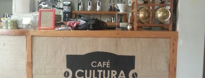 Café Cultura is one of restaurantes Stgo.
